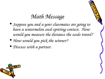 3rd Grade Everyday Math Lesson 3.2