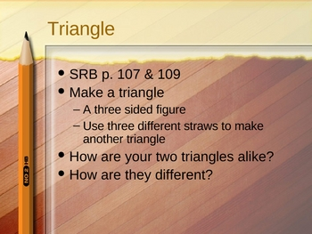 3rd Grade Everyday Math Lesson 3.4 Perimeter