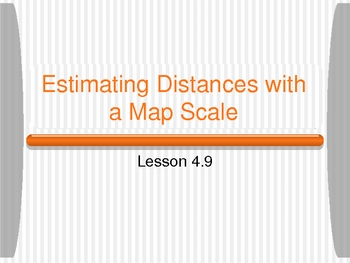 3rd Grade Everyday Math Lesson for 4.9 Map Scale