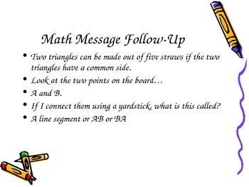 3rd Grade Everyday Math Lesson for 6.1