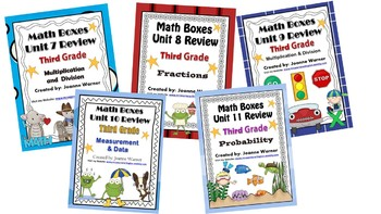 3rd Grade Everyday Math Semester Review ~ Units 7-11
