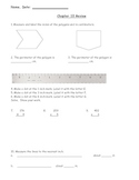 3rd Grade Everyday Math Unit 10 Review - Same Format as Test