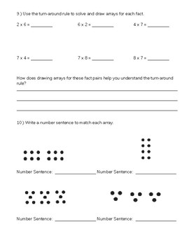 3rd Grade Operations Practice Problems