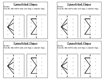 3rd Grade Everyday Math: Unit 6 Geometry Review Study Guide