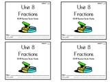 3rd Grade Everyday Math: Unit 8 Fractions Review Study Guide