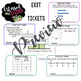 3rd Grade Exit Tickets for the ENTIRE YEAR! (TEKS Aligned)