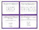 3rd Grade Expanded Form and Expanded Notation Task Cards