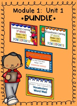 3rd Grade Expeditionary Learning Module 1:  Unit 1 BUNDLE