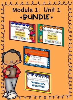 Engage NY 3rd Grade Expeditionary Learning Module 1:  Unit 1 BUNDLE