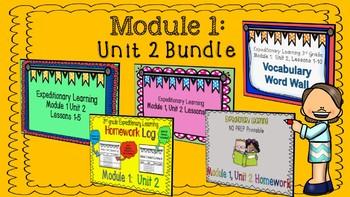 Engage NY 3rd Grade EL Expeditionary Learning Module 1:  Unit 2 Bundle