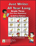 3rd Grade Expository Writing - Daily Lessons, Grammar, & Activities (20 Weeks)