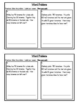 3rd Grade Expressions Math: Unit 5 Review Study Guide