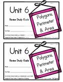 3rd Grade Expressions Math: Unit 6 {Polygons, Perimeter & Area}