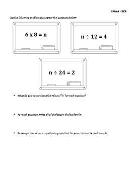 3rd Grade Extended Constructed Response & Short Constructed Response Tasks