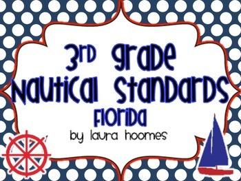 3rd Grade FLORIDA Nautical Standards