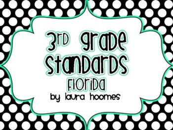 3rd Grade FLORIDA Standards