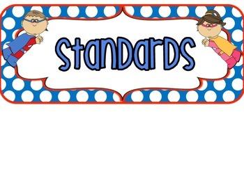3rd Grade FLORIDA Superhero Standards