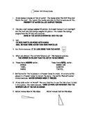 3rd Grade FOSS Water Unit Study Guide