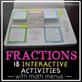 3rd Grade FRACTIONS Interactive Notebook