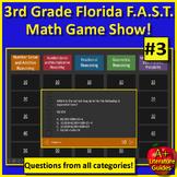 3rd Grade FSA Math Jeopardy Test Prep Game Operations + Algebraic Thinking #3