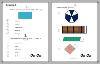 3rd Grade FSA Math Practice