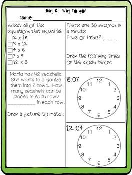 3rd Grade FSA Math Prep