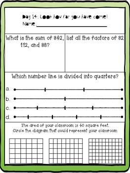 3rd Grade FSA Math Prep by Creating Creative Craniums | TpT