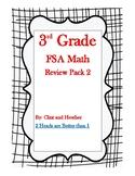 3rd Grade FSA Math Review Pack 2