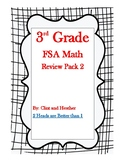 3rd Grade FSA Math Review Pack 2