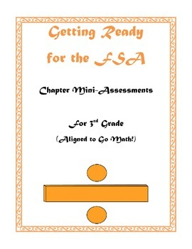 3rd Grade FSA Mini-Assessment Packet (Aligned with Go Math!)