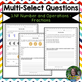 3rd Grade Number and Operations Fractions Test Prep
