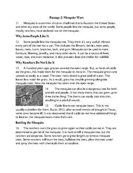 3rd Grade FSA Prep Informational - Set 2