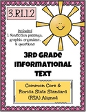 3rd Grade FSA Reading Practice - 3.RI.1.2