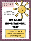 3rd Grade FSA Reading Practice - 3.RI.2.5