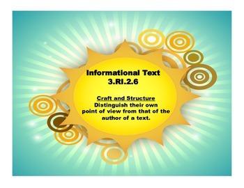3rd Grade FSA Reading Practice - 3.RI.2.6