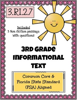 3rd Grade FSA Reading Practice - 3.RI.3.7