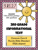 3rd Grade FSA Informational Text - 3.RI.3.7