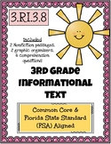 3rd Grade FSA Informational Text - 3.RI.3.8