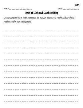 3rd Grade FSA Reading Practice - 3.RI.3.9