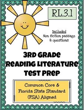 3rd Grade FSA Reading Practice - 3.RL.1.1