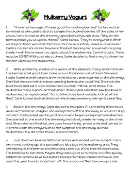 3rd Grade FSA Reading Practice - 3.RL.1.2