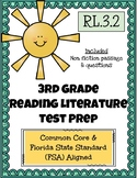 3rd Grade FSA Reading Practice - 3.RL.1.2