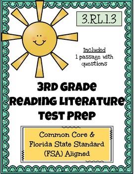 3rd Grade FSA Reading Practice - 3.RL.1.3
