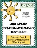 3rd Grade FSA Reading Practice - 3.RL.2.4