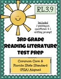3rd Grade FSA Reading Practice - 3.RL.3.9