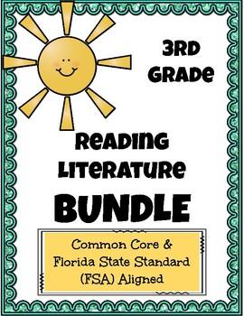 3rd Grade FSA Reading Practice Literature Bundle!