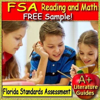 3rd Grade Fsa Test Prep Reading Practice Test Free Tpt
