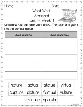 3rd Grade FUNdamentally Differentiated Spelling Lists w/Activities - Full Year!