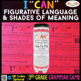 3rd Grade Figurative Language and Shades of Meaning Game
