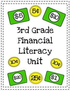 3rd Grade Financial Literacy Mini Book TEK 3.9